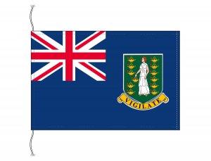 イギリス領ヴァージン諸島 国旗(卓上旗16×24cm)【メール便対応商品】(納期:受注後10日)