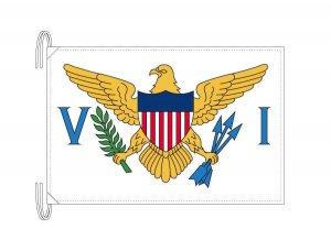アメリカ領ヴァージン諸島 国旗(旗サイズ50×75cm)(納期:受注後10日)
