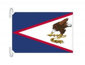アメリカ領サモア 国旗(旗サイズ50×75cm)(納期:受注後10日)
