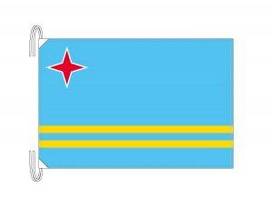 アルバ 国旗(旗サイズ50×75cm)(納期:受注後10日)