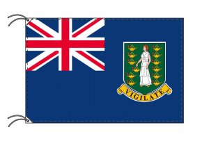 イギリス領ヴァージン諸島 国旗(旗サイズ100×150cm)(納期:受注後10日)