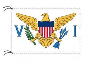 アメリカ領ヴァージン諸島 国旗(国旗サイズ70×105cm国旗・アルミ合金ポール・取付部品セット)