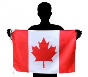世界の国旗 カナダ国旗 メープルリーフフラッグ[50×75cm ポリエステル100%]【メール便対応商品】