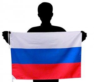 世界の国旗 ロシア国旗[50×75cm ポリエステル100%]【メール便対応商品】