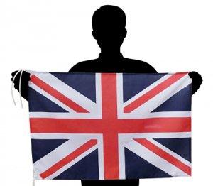 世界の国旗 イギリス国旗 ユニオンジャック 英国[50×75cm ポリエステル100%]【メール便対応商品】