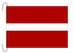 テトロン製 ラトビア国旗(M判・34×50...