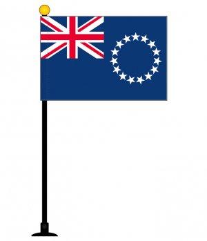 クック諸島国旗 1本セット【ミニフラッ...