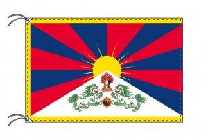 世界の国旗 チベット(90×135cm)【メール便対応商品】