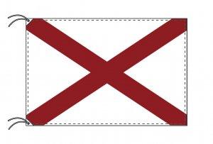 アラバマ州旗[アメリカ合衆国の州旗・70×105cm・高級テトロン製]