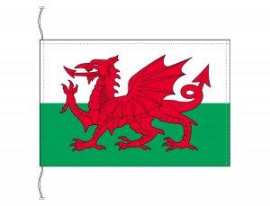 ウェールズ 国旗(卓上旗16×24cm)【メール便対応商品】