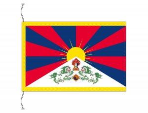 チベット 国旗(卓上旗16×24cm)【メール便対応商品】