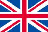訳あり・イギリス国旗ユニオンジャック(木綿製・手旗サイズ34×50cm)