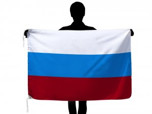 世界の国旗ロシア(90×135cm)【メール便対応商品】