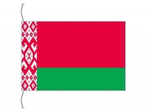 ベラルーシ国旗(卓上旗16×24cm)【メール便対応商品】