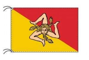 イタリア・州旗 シチリア州(90×135cm)