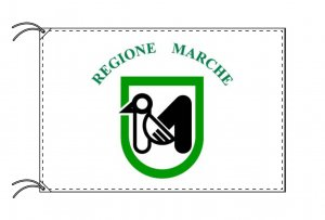 イタリア・州旗 マルケ州(100×150cm)