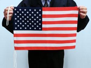 訳あり世界の国旗(木綿製・手旗サイズ34×50cm)