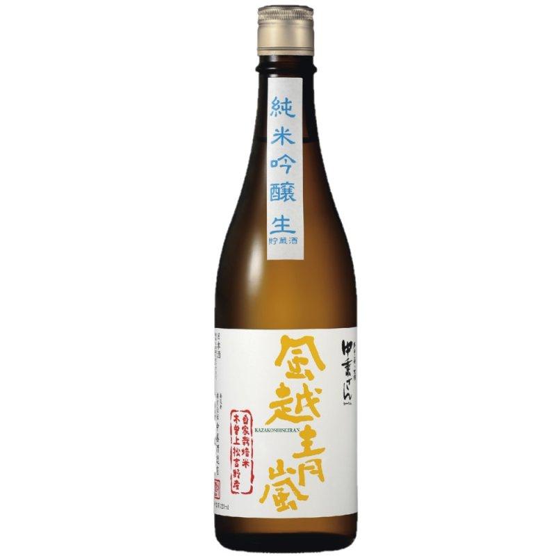 自家栽培米 山恵錦 風越青嵐 純米吟醸生貯蔵酒 720ml