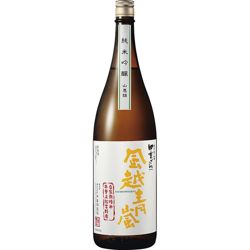 風越青嵐 純米吟醸(自家栽培米 山恵錦) 1800ml