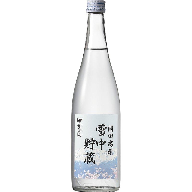 中乗さん 雪中貯蔵生原酒<br> 720ml