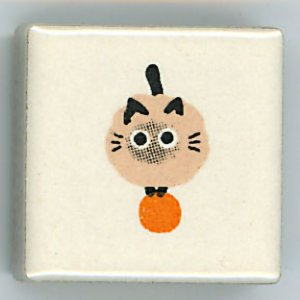 <img class='new_mark_img1' src='https://img.shop-pro.jp/img/new/icons30.gif' style='border:none;display:inline;margin:0px;padding:0px;width:auto;' />ねこシリーズ アルファベット ・ドット  (Cat series Alphabet Petit tile .)