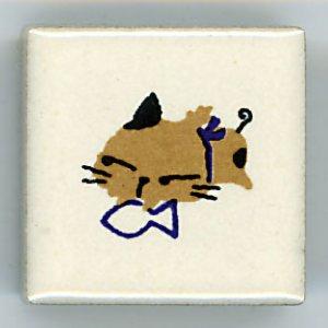<img class='new_mark_img1' src='https://img.shop-pro.jp/img/new/icons30.gif' style='border:none;display:inline;margin:0px;padding:0px;width:auto;' />ねこシリーズ アルファベット 5  (Cat series Alphabet Petit tile 5)