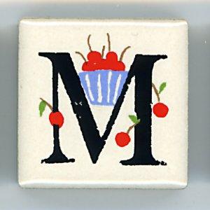 アルファベット ピチタイル M  (Alphabet Petit Tile M)