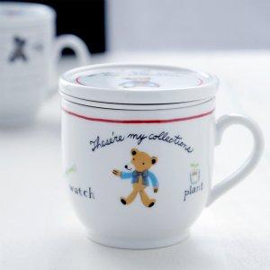 かとうしんじ Bears Factory series ハーブマグカップ Cタイプ