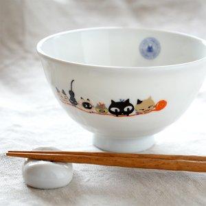 SHINZI KATOH アニーブンキャッツ お茶碗L B