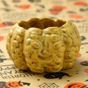 かぼちゃの形の陶器 カップ S 4個入り 各種 No.222 90cc
