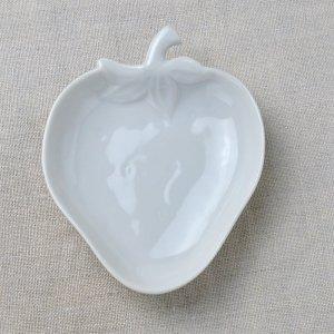イチゴの形の陶器のトレー  6枚セット