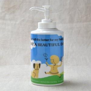 Shinzikatoh シンジカトウデザイン BD 陶器ソープボトル (Ceramic Soap Dispenser)