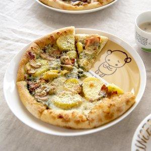 Shinzi katoh シンジカトウ 困り顔のクマちゃんが可愛いデザイン 陶器のプレートCS