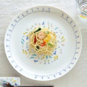 Shinzi katoh シンジカトウ 可憐な感じのデザインが素敵な陶器の大皿 プレートCD