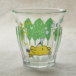 Shinzikatoh シンジカトウ デザイン Caramel Animalsシリーズ ガラスのコップ ビガーグラス Snoring Bear