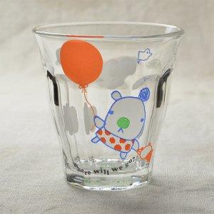 Shinzikatoh シンジカトウ デザイン Caramel Animalsシリーズ ガラスのコップ ビガーグラス Balloon Bear