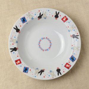 Shinzi katoh シンジカトウ Mon pluche モンペルシェ シリーズ ウサギのイラストが可愛い  カレー&スープ