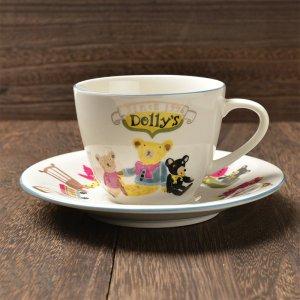 Shinzi katoh シンジカトウ デザイン <br>伝統的なくまのデザインが心を和ませてくれる <br>Dolly'sドリーズ シリーズ DOカップソーサー 美濃焼