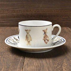Shinzi katoh シンジカトウ デザイン <br>金色のロゴがカッコいい! <br>Old fashion オルドファッション シリーズ OFカップソーサー 美濃焼