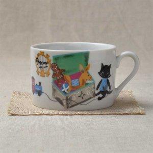 シンジカトウ マグカップ 可愛い猫のデザイン MMマグカップB