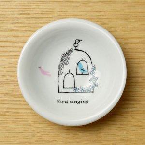 可愛い食器 シンジカトウ 小鳥のデザイン 小鉢 TB ミニボウル