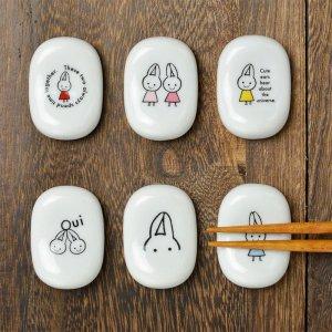 Shinzi Katoh  Ouiシリーズ FOU陶器の箸置き