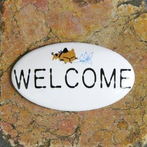タイルプレート(S) WELCOME  (Tile Plate (S) WELCOME)
