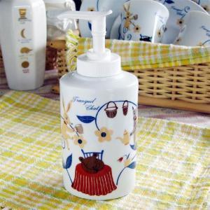 トランキールチャットローションボトル (Tranquil Chat Ceramic Lotion Dispenser)