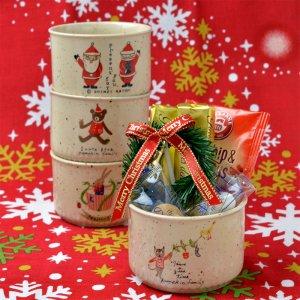 クリスマスデザートカップ-サンタメール148SS