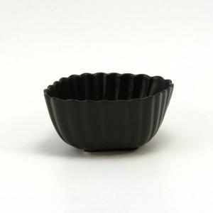 No.168 小鉢黒マット 6個セット  120cc