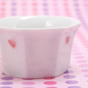 �157 八角 イチゴカップ 白