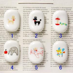 Shinzi Katoh  ポップなデザインが可愛い 陶器の箸置き