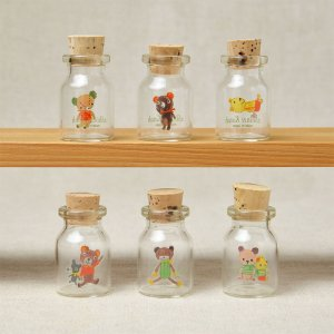 OUプチコルクビンSET  (OU Petit jar with cork Set)
