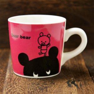 DearBear series マグカップ Rタイプ  (Dear Bear series Mug R)
